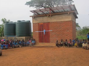 Commissioning solar-powered safe water solution