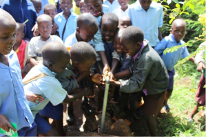 Clean Rotary water for the students