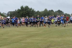 There were 289 participants in the 5 km run/walk, that allowed you to even take your dog.